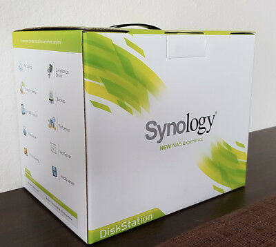 Synology Diskstation DS214+ mit 2 x 3TB Western Digital Red HDD (6TB insgesamt)