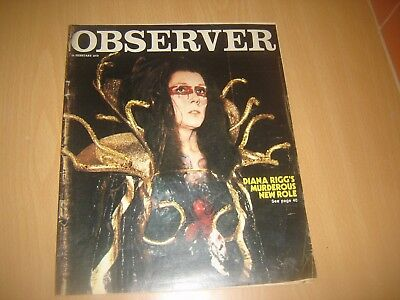 observer magazine diana riggs feb 28th 1979