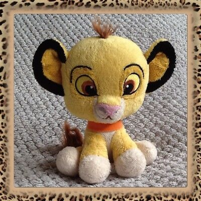Disney The Lion King/Guard Young Simba Cub baby Posh Paws plush cuddly soft toy