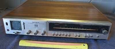Vintage Sony 4-Channel Stereo Receiver Model Hqr-600/ Rare!