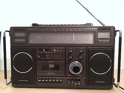 GRUNDIG RR1140 SL PROFESSIONAL m. Manual, Schaltplan, Ident-Document u. Cassette