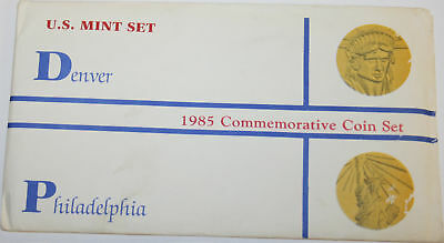 * Scarce 1985 Commemorative Mint Set also called the Statue of Liberty Mint Set