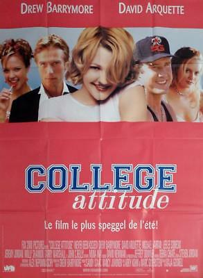 Never Been Kissed - Barrymore / Arquette / College - Original Large Movie Poster