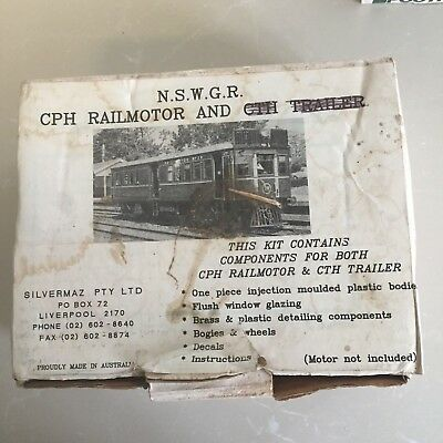 NSWGR HO CPH Rail Motor Power Car