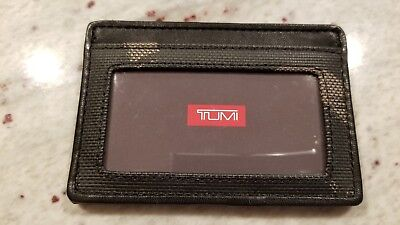 TUMI Alpha ID Lock Slim Card Case Brand New