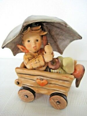 """RARE GOEBEL Hummel """"OUT FOR A RIDE"""" • #2200/A • TMK9 • """"Part of Autumn Time"""""""