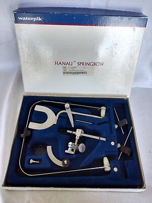 Vintage Waterpik Hanau Springbow Dental Ortho Instrument With Box
