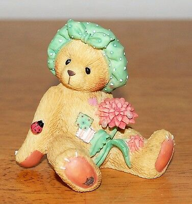 """Cherished Teddies DAHLIA """"You're The Best Pick Of The Bunch"""" ~ BOX #202932"""