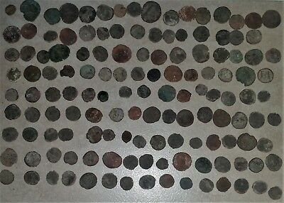 Ancient Roman Coins 135 total all have been cleaned lot