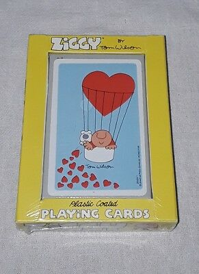 Vintage 1978 Ziggy Playing Cards By Tom Wilson Sealed Nos