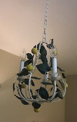 One Of A Kind Vintage Lemon Tree Chandelier