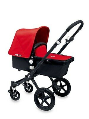 Bugaboo cameleon 3 stroller Red with bassinet