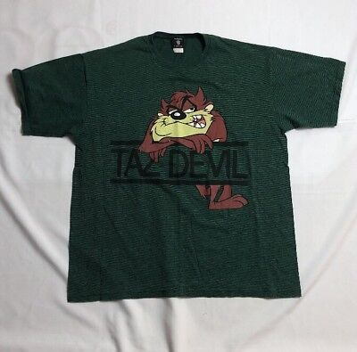 Vintage Taz Devil Warner Brorthers Tee Size 2X Front And Back Design
