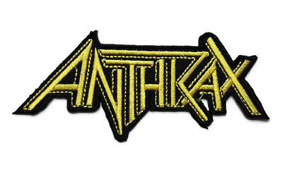 New Anthrax Music Rock Embroidered Symbol Iron On Patch Shirt Logo Fabric Po782