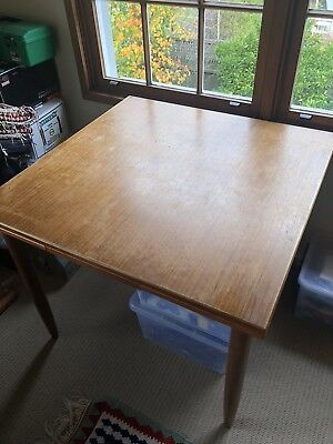 mid century Parker Style Extendable Dining Table
