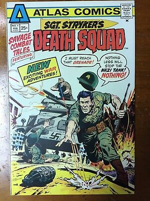 Savage Combat Tales #1 Sgt Stryker's Death Squad (Atlas/Seaboard Comics) VF/OWP!
