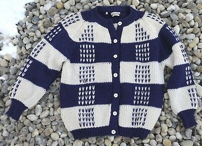 Vintage 1950s Hudson's Bay Company Wool Sweater Made in Italy M L