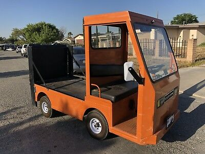 Taylor Dunn B2-48 Business Industrial Flatbed Electric Cart With lift gate.