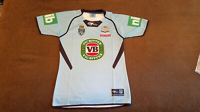 NSW Blues State of Origin On Field Premium Jersey - Adult SIze Large Brand New