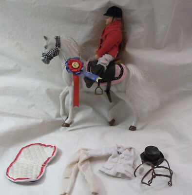 Vintage Breyer Doll Lot~ 17 Pieces: Doll, Horse, Extra Clothing & Accessories