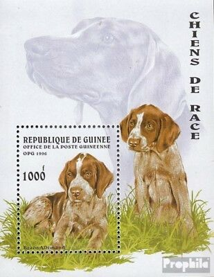 Guinea block503 unmounted mint / never hinged 1996 Dogs