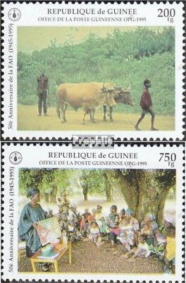 Guinea 1546-1547 unmounted mint / never hinged 1995 50 years fao