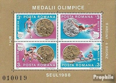 Romania block251 unmounted mint / never hinged 1988 Medalists Olympia