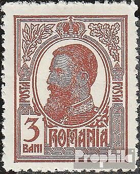 Romania 221 unmounted mint / never hinged 1909 King Karl I.