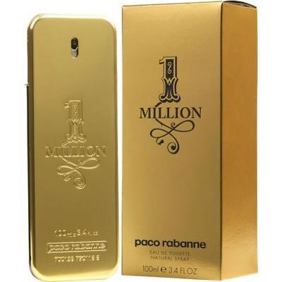 Paco Rabanne One Million -1 Million- EDT Eau de Toilette Spray 100ml 3.4oz