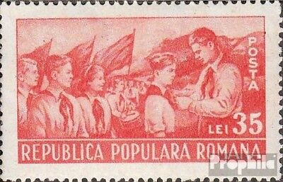 Romania 1261 unmounted mint / never hinged 1951 Jugendpioniere