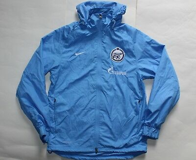 Zenit St Petersburg Football Training Jacket - Small - Nike - Russia - Shirt