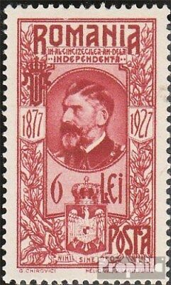 Romania 317 unmounted mint / never hinged 1927 50Jahre Independence