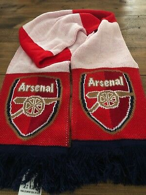 Arsenal Supporter Scarf. EPL.
