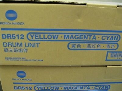 DR512 - Yellow-Magenta-Cyan Drum Unit OEM