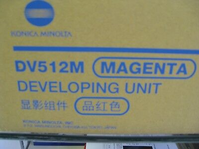 DV512M Magenta Developing Unit - Konica Minolta OEM