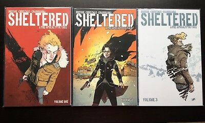 SHELTERED VOLUME 1+2+3 US-TP Paperback TPB Ed Brisson / Christmas Image Comics