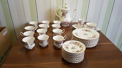 Kaffeeservice royal albert bone china England Moss China