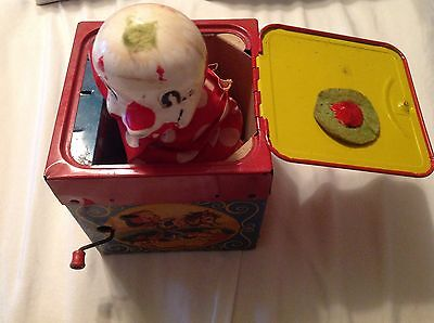 Mattel Creations Jack In The Box Music Box Featuring Jolly-Tune The Clown