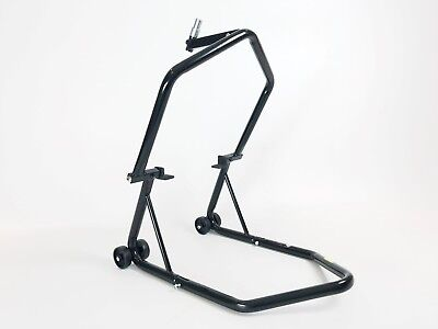 Motorbike Front Wheel Stand Heavy Duty Paddock Stand Motorcycle Head Track