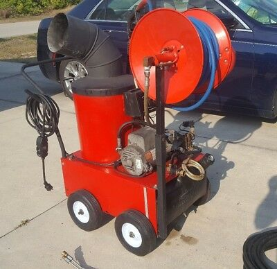 Hotsy Electric Hot Water Pressure Washer