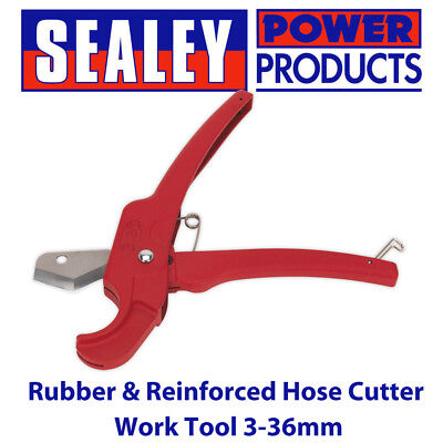 Sealey HCA26 - Rubber & Reinforced Hose Cutter Work Tool 3-36mm