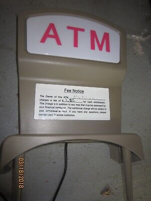 Euc Mini-Bank 1520 Atm Lighted Sign Topper