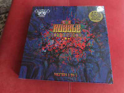 V/A - The Rubble Collection  Vol. 1-5 Box 2012 Pilot Records Sealed