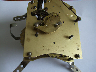 Smiths Movement With Floating Balance & Silence Lever , Spares Or Repairs .