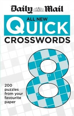 Daily Mail All New Quick Crosswords 8 (The Daily Mail Puzzle Books)...