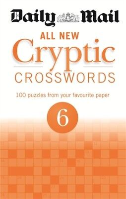Daily Mail All New Cryptic Crosswords 6 (The Daily Mail Puzzle Book...