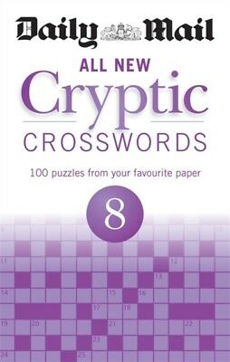 Daily Mail All New Cryptic Crosswords 8 (The Daily Mail Puzzle Book...