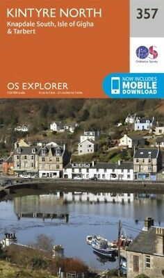 OS Explorer Map (357) Kintyre North (Map)