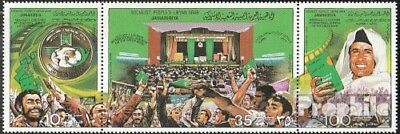 Libya 759-791 triple strip unmounted mint / never hinged 1979 that Green Book of
