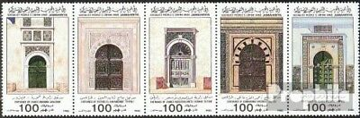 Libya 1591-1595 five strips unmounted mint / never hinged 1985 Portals